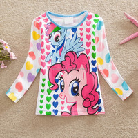 Competitive price children garments top sale around the world