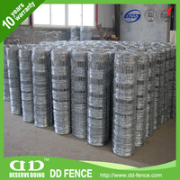 green sheep wire mesh fence/ farm fencing net/ colour coated farm fence for sale