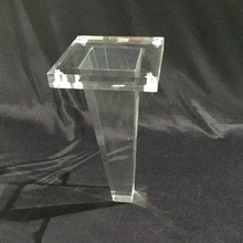 DDH-L060 Trade Assurance Tapered Acrylic Table Leg