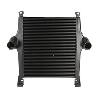 Aluminum OEM quality radiator for iveco