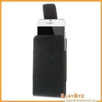 Magnetic Leather Holster Pouch Case with Belt Clip for iPhone 6 4.7 inch