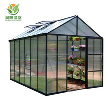 Mini garden kits indoor decorative portable polycarbonate greenhouse