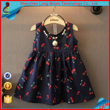 New design high quality picture of children casual dress