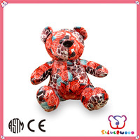 Over 20 years experience cute custom wholesale plush stuffed teddy bear t-shirts
