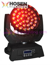 RGBWAUV 6in1 zoom 36*18W Led moving head