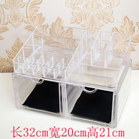 wholesale acrylic plexiglass makeup organizer with drawers
