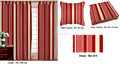 Maroon Stripe Design Shower Curtain Fabric
