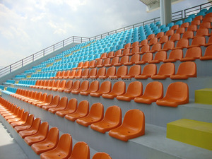 Commercial Furniture General Use and Plastic Material stadium chair