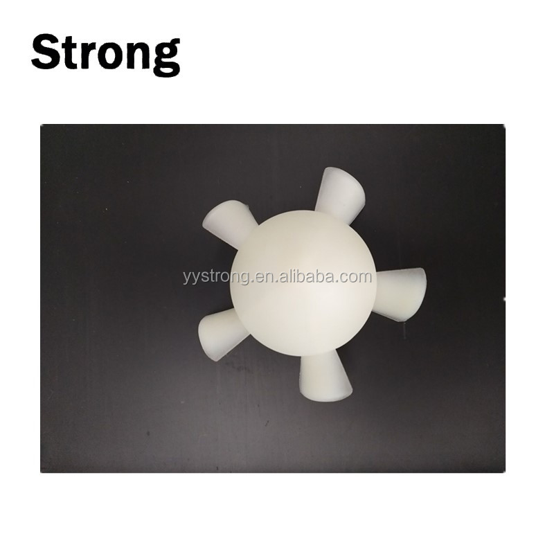 OEM ABS PP PE small mini plastic fan blades with customized diameter 1''-5'' and thickness 1.3mm-3mm