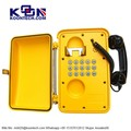Surveillance Phone, KNSP-01 Waterproof Telephone IP66 Stainless steel public phonesfor Bank telephone for tunnel