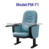 FM-71 Plastic church furniture chairs with plastic table made in China
