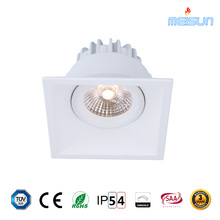 Whole sale square led cob downlight dim to warm 2000k-2800K with dimmable 83mm cutout