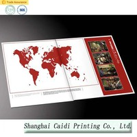 board flip book printing service in China
