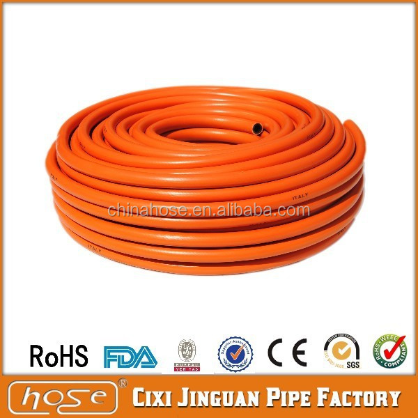 BBQ BARBECUE REPLACEMENT PVC Yellow Flexible Gas Hose Oil/Acid/Alkali Proof