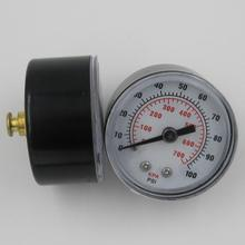 high precision plastic pressure gauge movement with center back connection