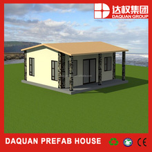 easy&fast build construction prefabricated house