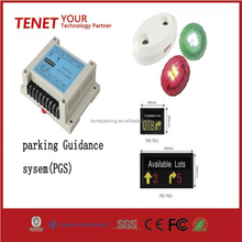 CE Approved RS485 Car Parking lot Guidance System Vehicle Ultrasound Sensor Parking Lot Space LED Indicator