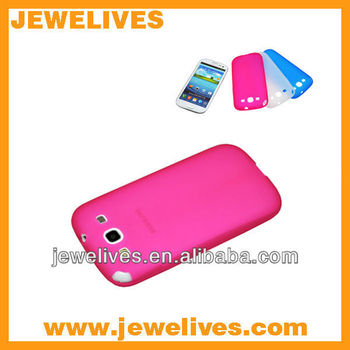 Hot SOFT TPU GEL Hybrid Cover Case Skin For Samsung Galaxy S3 i9300