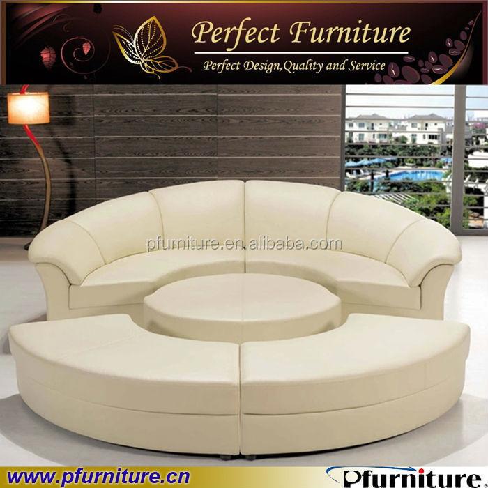 Pfs2121b prezzo di fabbrica di porcellana rotondo moderno funzione divano letto divani di - Letto rotondo prezzo ...