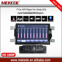 wholesale price hot selling car dvd GPS navi player for Geely GC6 car radio stereo with BT 1080P
