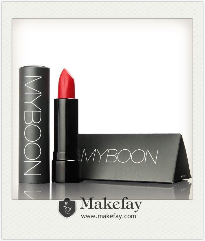 2015 NEW wholesale high quality branded Myboon natural lip stick magic lipstick