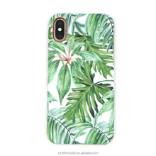 soft IMD back cover for iPhone X flower pattern cell phone case for iphone7plus