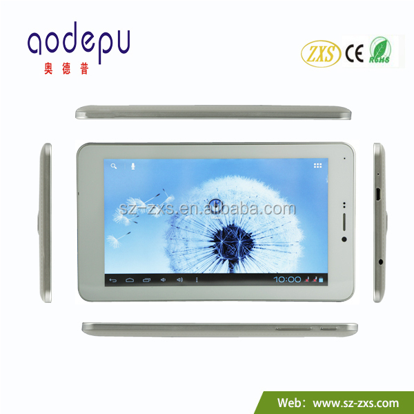 ZXS-7-A20 Factory wholesale 7 inch Allwinner dual camera android 4.2 tablet pc manual