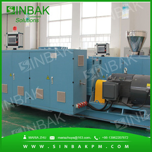 Plastic PE PP HDPE PVC PPR Pipe Making Machine Extrusion Production line