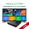 X96 S905X Kodi TV Box Android 6.0 Marshmallow TV Box video Media Player S905X smart tv box blue film video download set top box