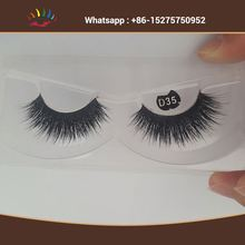 New Design Premium 3D Mink Lashes Private Label Mink Eyelashes Fake Eyelashe