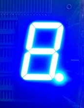 led display Indoor Usage and numeric,number Display Function 7 segment led display for countdown timer