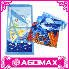 Private label welcome colorful promotion cotton kids home towel