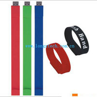 Silicone Bracelets Cover 4gb usb Flash Disk Drive