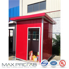 G222224 shack prefab guard booth modular guard house