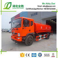 China Brand 4x2 Stainless Steel Water Tank Truck Price