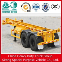 40ft Skeleton Truck Semi Container Chassis