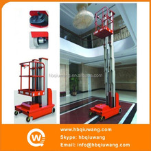 Dual mast aluminum electric ladder manufacturers