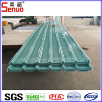 Translucent Clear Corrugated Roof Panels/FRP Fiberglass Roofing Sheets