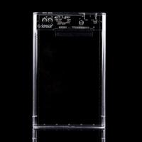 ORICO 2139U3 USB3.0 Transparent External Hard Disk Box Storage Case for 9.5mm 2.5 inch SATA HDD / SSD