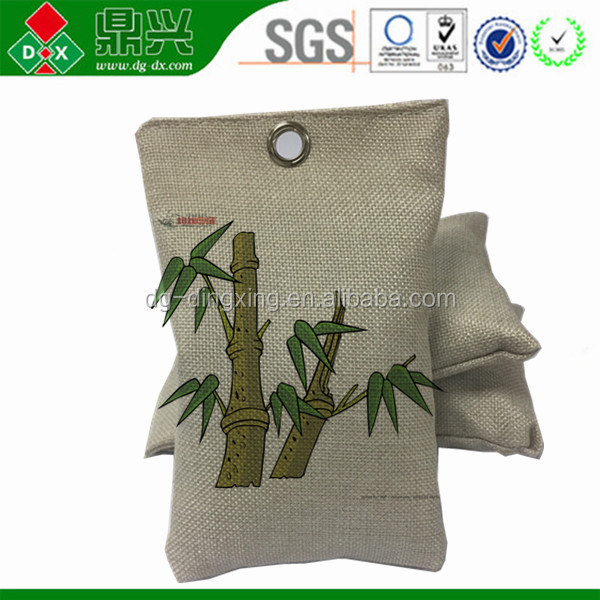 OEM/ODM service bamboo charcoal odor eliminator bags