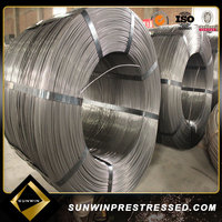 High tensile prestressed 5mm PC steel wire for sale