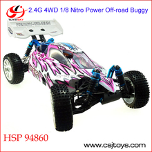 HSP 94860 2.4G 4WD 1/8 Nitro Power iniversal off-road buggy