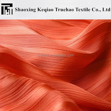 Truehao Textile pure crepe chiffon for saree 100% polyester 75D crinkle chiffon wholesale from alibaba China