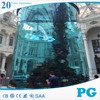 PG High Standard Custom Acrylic Aquarium Tank Price