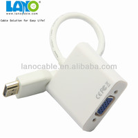 High definition micro usb to vga audio mhl adapter converter cable