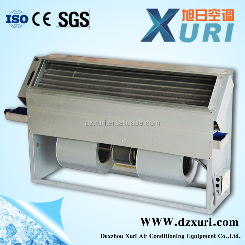 FP-25LAS series Fan Coil Unit Vertical concealed Central Air Conditioner LM Vertical Fan Coilfor industrial