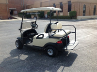 4 seats Club Car Golf Cart With Back Seat and Lights