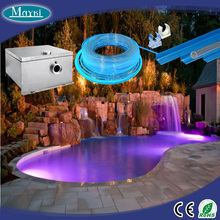 Fibre and LED generator Superior pools using for pond perimeter light