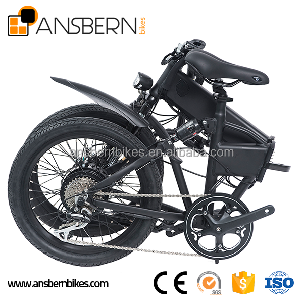 20 Inch 350W 36V 10.4AH Folding Electric Bike e-bike motor 250w 24v ASB-EB-03