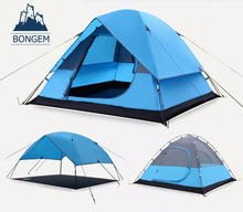 3-4 persons large inflatable luxury family camping tent